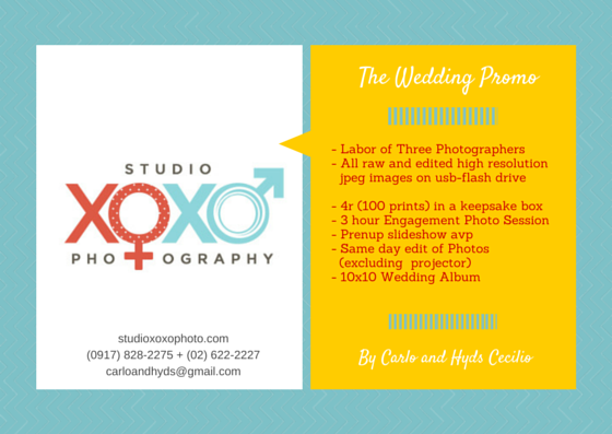 studio_xox0_ wedding_rates
